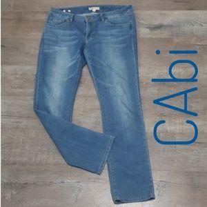 CAbi Jean's. Straight leg Jeans